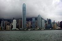 Sky Line, Bay, Hong Kong, China, Asia