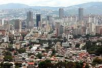 Caracas city, view from El Avila National Park, Caracas, Venezuela