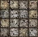 grunge blocks pattern