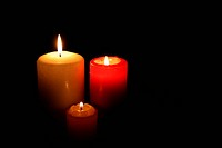 Three Candles In Darkness