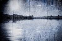 Lake under clouds