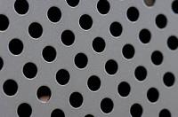 Round Steel Holes