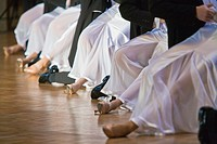 Couples at ballroom dancing at a dancing competition, Germany, Europe
