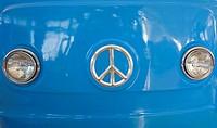 Blue Retro Van