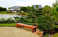 a famous traditional Japanese garden