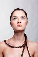 girl with creative hair_do