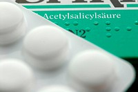 Aspirin _ Package with blister pack
