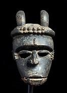 Ibibio Idiok Mask, tribal art, Nigeria, Africa
