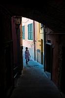 Riomaggiore, Cinque Terre National Park, Province of La Spezia, Liguria, Italy, Europe