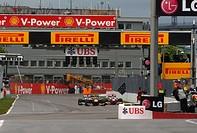 Michael Schumacher, Mark Webber, Jenson Button, Formula One, Canadian Grand Prix, Montreal, Canada