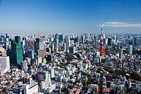 Japan-Tokyo City-Tokyo Skyline-Tokyo Tower
