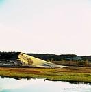autumn lakeside scenery
