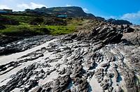 rocks on the beach of Stintino in Sardinia