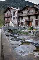 Beget,Garrotxa, Girona, Catalonia, Spain