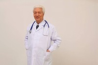 Confident Male Doctor