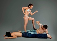 Man afraid woman violence _ sexual games