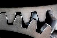 Detalle de un componente de la máquina ´Cabrestante de Minas´ de Lieres, Mining museum, Museum of Industry, El Entrego, Oviedo, Asturias, Spain, Europ...