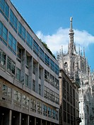 Gothic dome of Milan, Italy