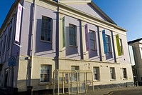 The Assembly Rooms in Ludlow town centre, Shropshire, England, UK