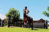 Young Woman Horseback Rider