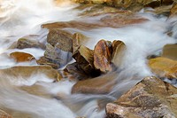 Rocks in a stream
