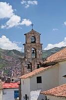 Peru, Cusco, San Blas area, church