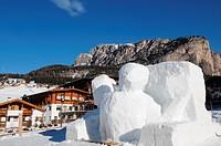 Europe , Italy , Trentino alto adige , val Gardena , Selva Val Gardena , Dolomite ...