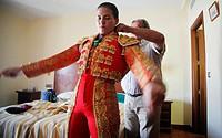 Spanish female bullfighter Sandra Moscoso