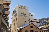 Monopol hotel, St. Moritz, Switzerland