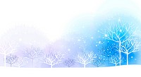 Illustration of winter season