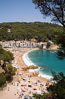 Picturesque Bay of Tamariu on the Costa Brava in Spain