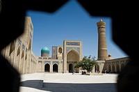 Poi Kalyan Complex in Bukhara UZBEKISTAN.