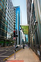 Canary Wharf, new financial and commercial area  London  England  United Kingdom  UK.