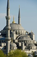 Yeni Camii, The New Mosque or Mosque of the Valide Sultan located in the Eminönü district of Istanbul, Turkey