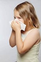 Little girl tissue