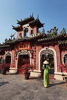 Phuc_Kien_Pagoda, Assembly Hall of the Fujian Chinese Congregation, Hoi An, Annam, Vietnam