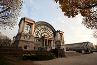 Royal Museum of the Army and of Military History, in Parc du Cinquantenaire, in Brussels, Belgium