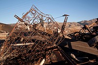 rusty junk bumpers junkyard scrap salvage rusting abandoned