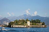 Europe, Italy, Piedmont, Piemonte, Lake Maggiore, Lago Maggiore, Stresa, Borromean, Islands, Iles Borromees, Isola Bella, Alps, Tourism, Travel, Holid...
