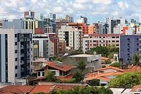 Condominium Buildings, Cabo Branco, Joao Pessoa, Paraiba, Brazil, Brasil
