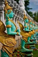 Temple Decorations, Cambodia