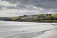 inchydoney beach near clonakilty, county cork ireland