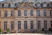 France, Bas Rhin, Strasbourg, old town listed as World Heritage by UNESCO, the Palais des Rohan, which houses the Museum of Decorative Arts, Fine Arts...