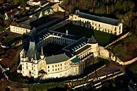 France, Eure, chateau de Gaillon aerial view