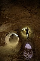 Australia, South Australia, Coober Pedy, Umoona Opal Mine and Museum, in the old mine