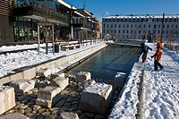 France, Isere, Grenoble, the Eco Quartier de Bonne, the city of Grenoble has received the EcoQuartier 2009 National Grand Prix 2009 Environment friend...