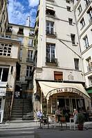 France, Paris, Passage du Beaujolais between the Rue de Richelieu and the Palais Royal Theatre