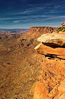 Grand View Point, Island in the Sky, Canyonlands National Park, Utah, USA