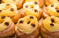 Zeppole, typical italian pastries