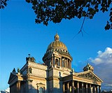 St Isaac Cathedral  St  Petersburg  Russia.